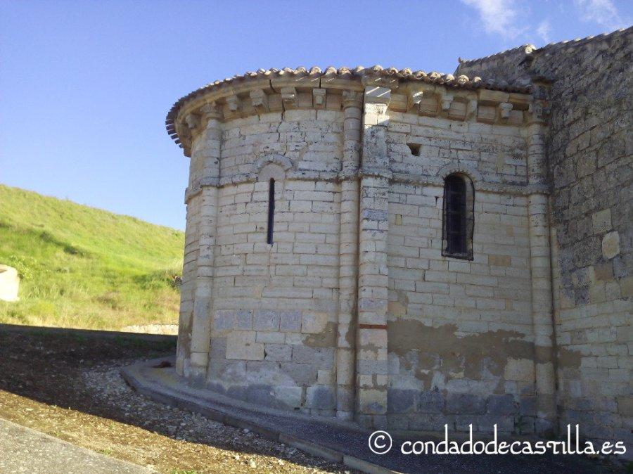Cabecera románica de San Adrián de Villavieja de Muñó