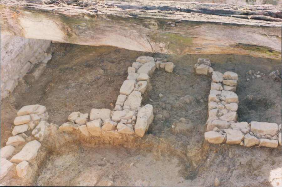 Excavaciones iglesia de Finaga