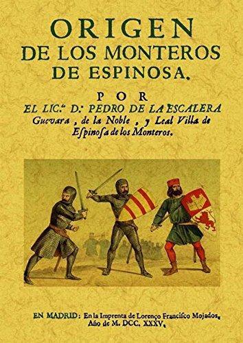 Origen de los Monteros de Espinosa Book Cover
