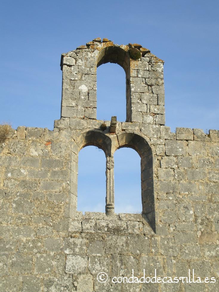 Muro oeste de San Pelayo de Arlanza