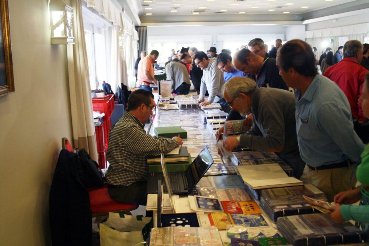 Se celebra en Logroño el VIII Salón de Numismática, Filatelia y Coleccionismo