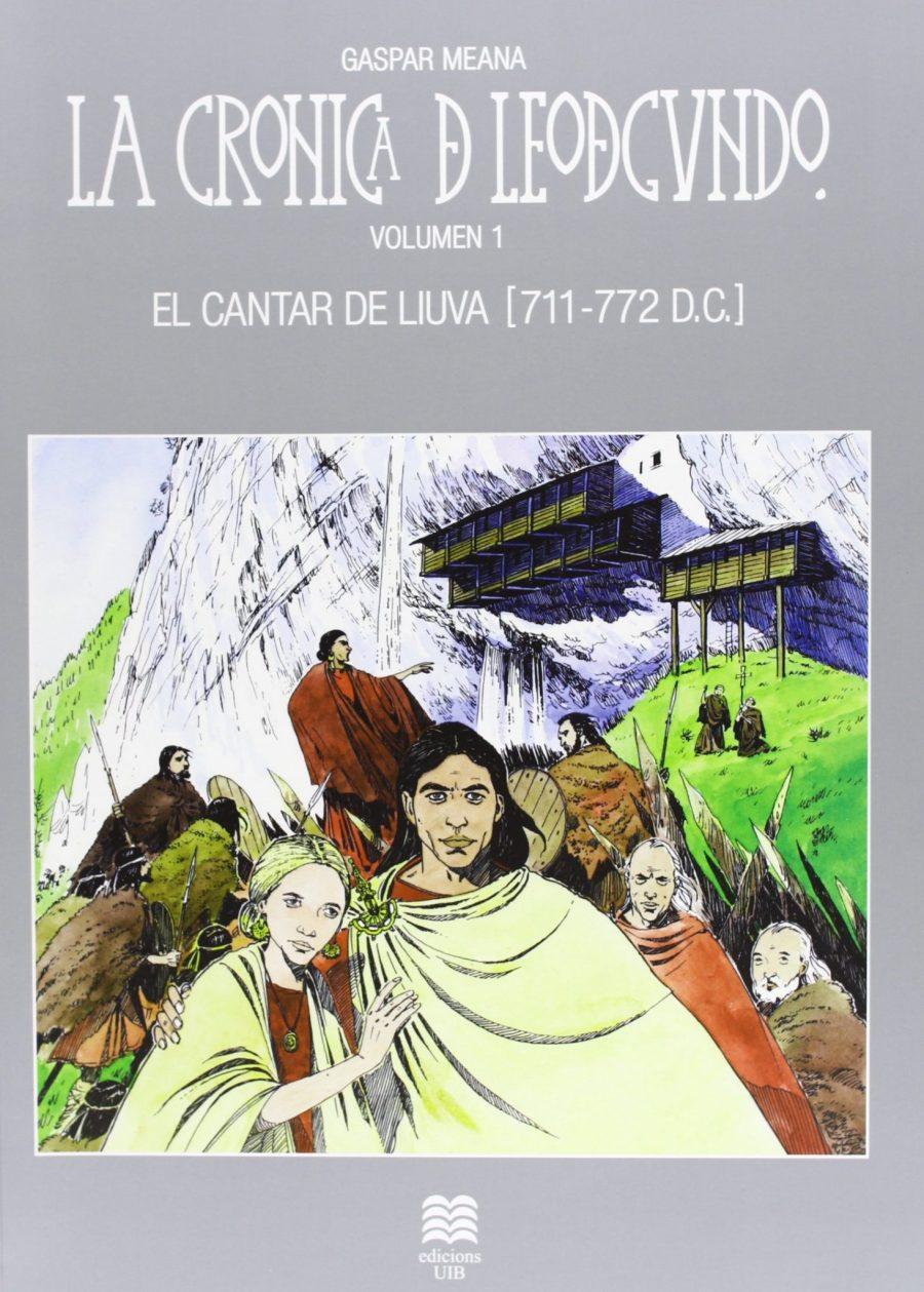 El Cantar de Liuva (711-772 DC) Book Cover