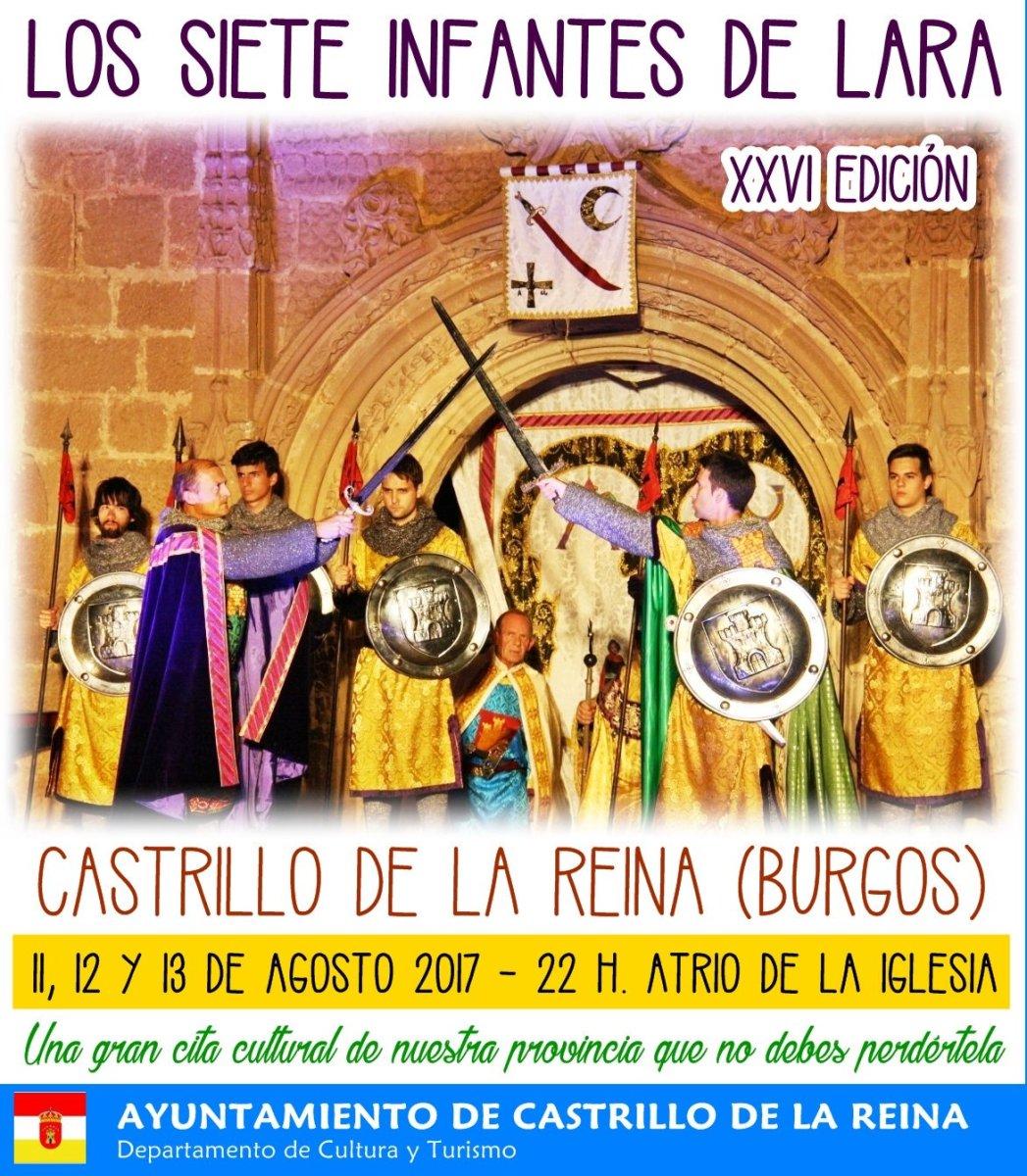 XXVI Representación de Los Siete Infantes de Lara en Castrillo de la Reina 2017