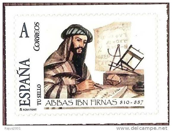 Sello Ibn Firnas de España