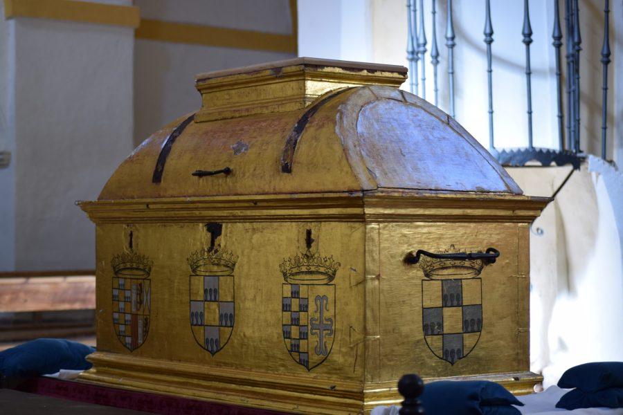 Arca con las reliquias de San Vitores