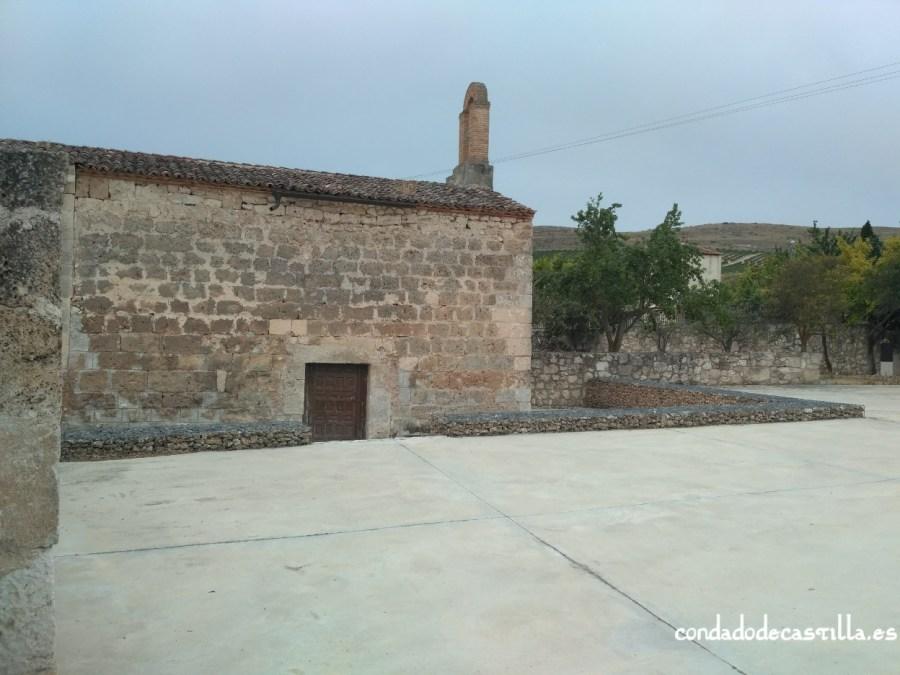 Muro norte de Santa María de Cárdaba