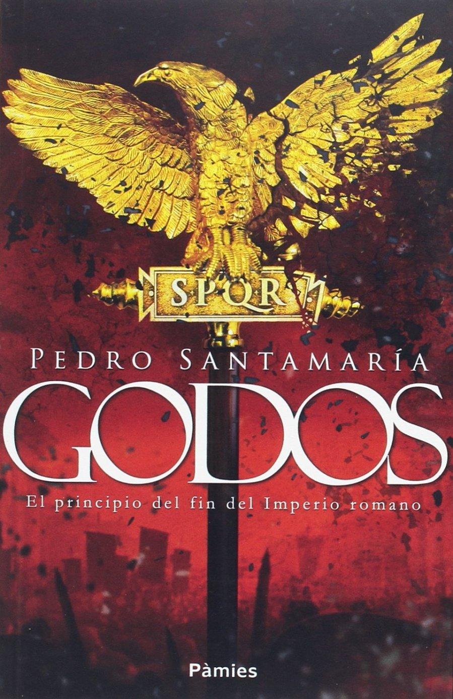 Godos. El principio del fin del imperio Romano Book Cover