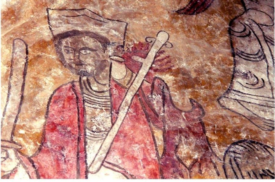 Pintura románica San Esteban de Viguera: ¿Ramiro Garcés?