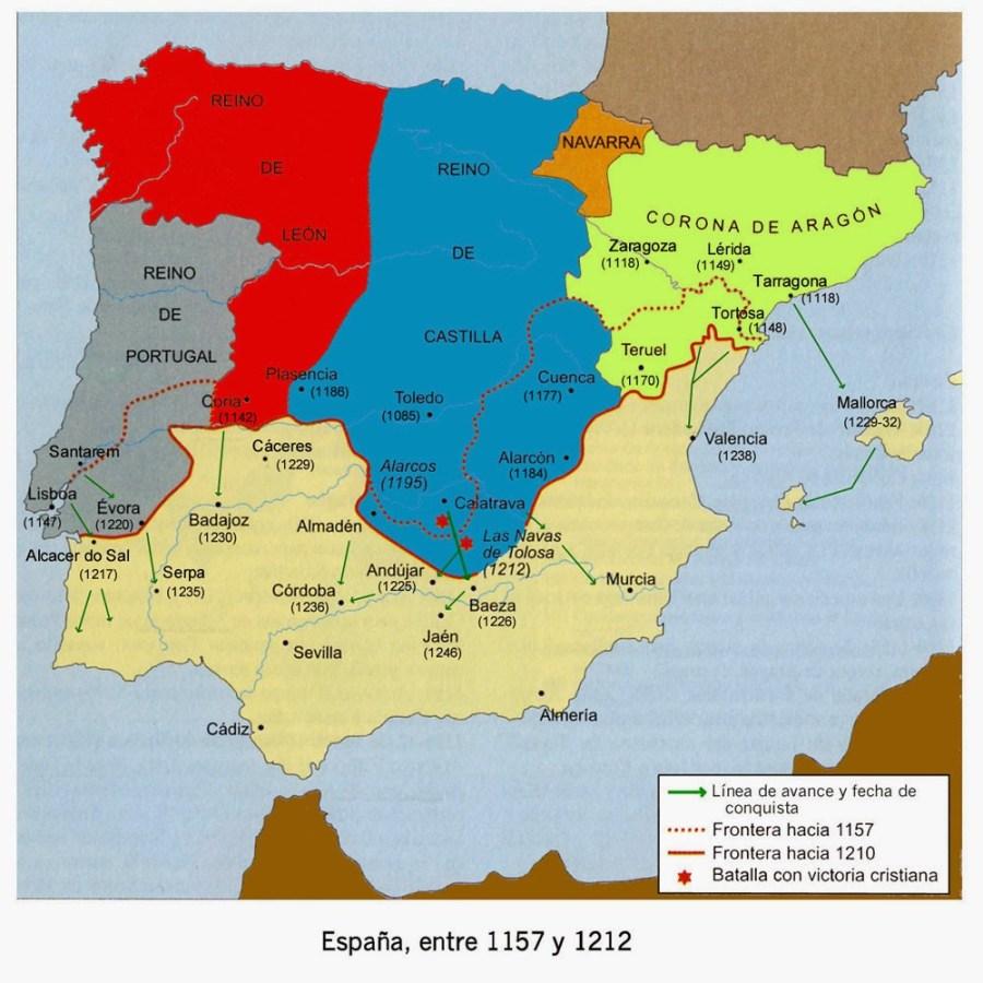 Reino de Castilla hasta 1212