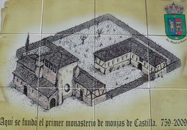 Placa conmemorativa del 1250 aniversario de la fundación de San Miguel de Pedroso