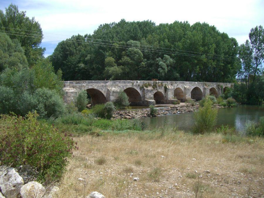 Puente de Rabé de la Calzada (Burgos)