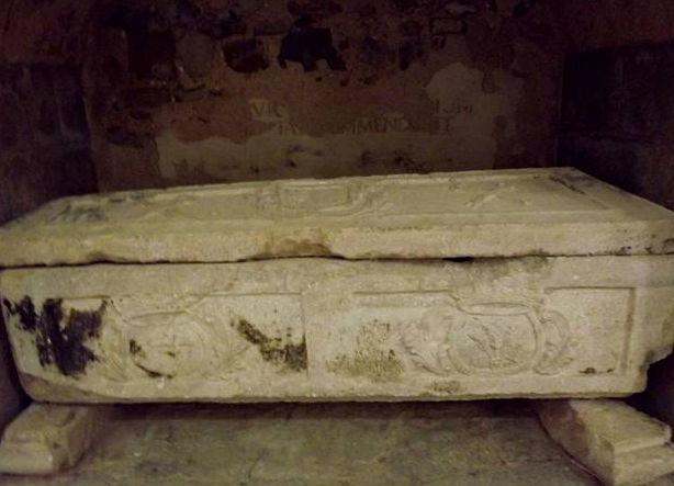 Supuesto sepulcro de Gonzalo en San Victorián