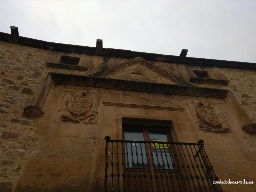 Fachada Casa del Moro en Sepúlveda