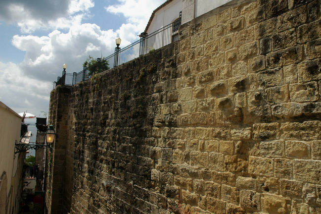 Cerca Moura o Vielha de Lisboa. Muralla visigoda y musulmana.