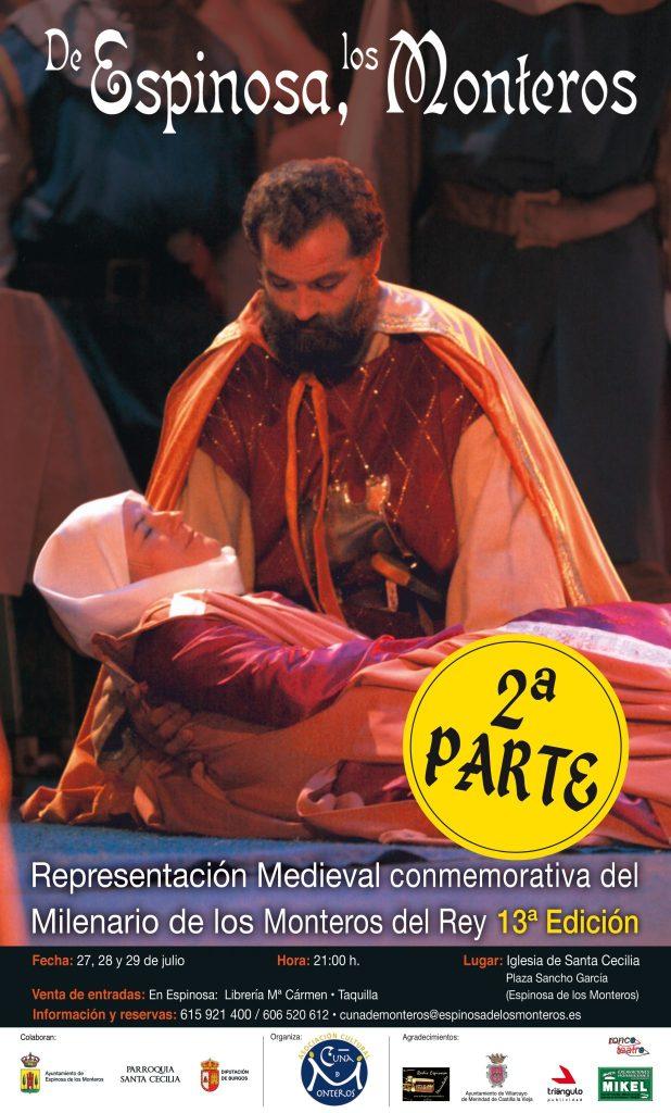 Cartel De Espinosa Los Monteros 2018