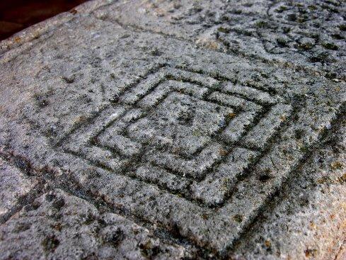 Alquerque en San Miguel de Fuentidueña (Segovia)