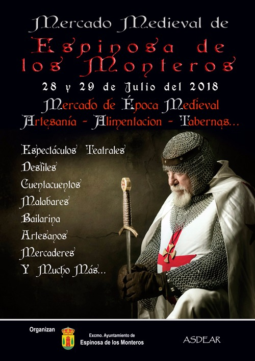 Mercado Medieval Espinosa de los Monteros 2018