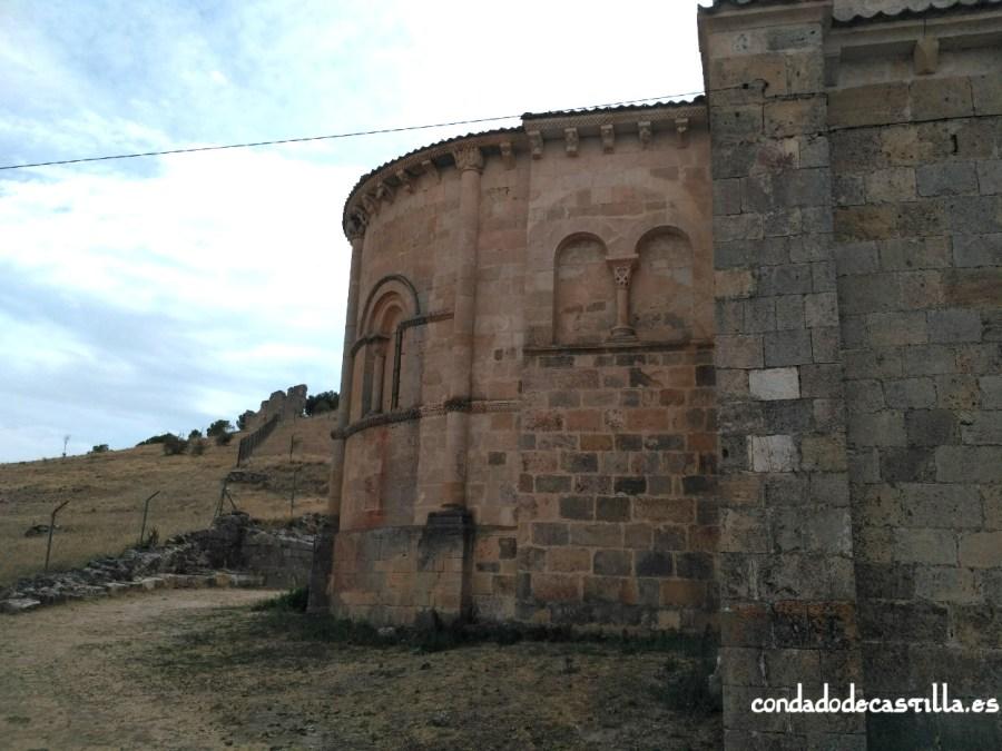 Ábside de la Iglesia de San Miguel de Fuentidueña