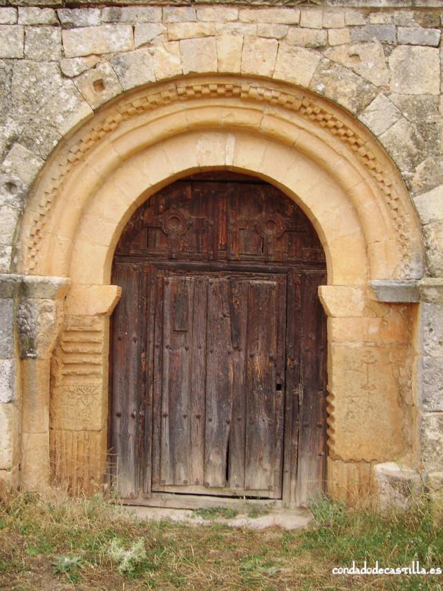 Puerta de entrada a la ermita del Santo Cristo
