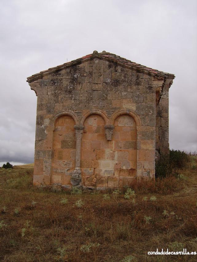 Muro oriental del ábside de la Ermita del Santo Cristo de San Sebastián