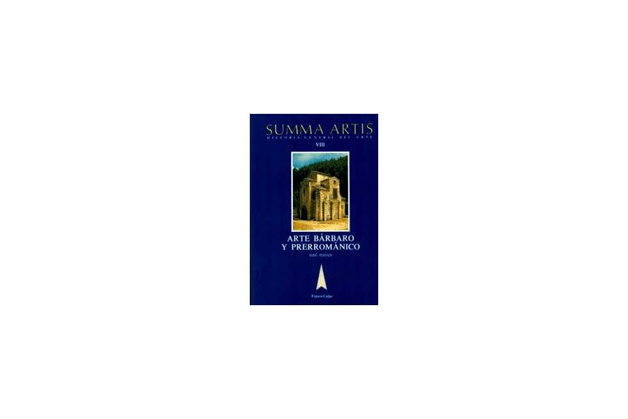 Arte bárbaro y prerrománico. Desde el siglo IV hasta el año 1000 Book Cover