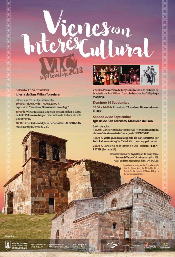 Vienes Interés Cultural 2018