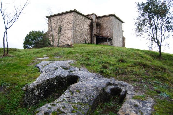 Ermita y necrópolis de San Formerio de Pangua