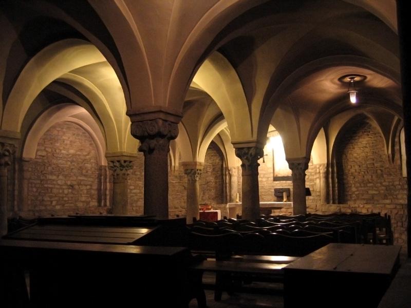Cripta de la catedral de Vic