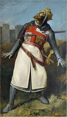 Sancho II alanceado en Zamora. Óleo, Ayuntamiento de León