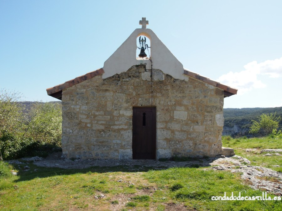 Fachada oeste Santa Centola y Elena