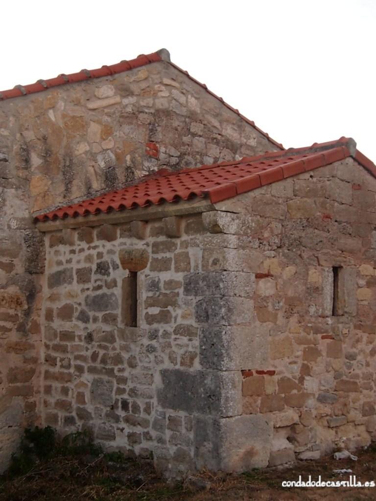 Ábside de la ermita de Montesclaros de Ubierna desde el sureste