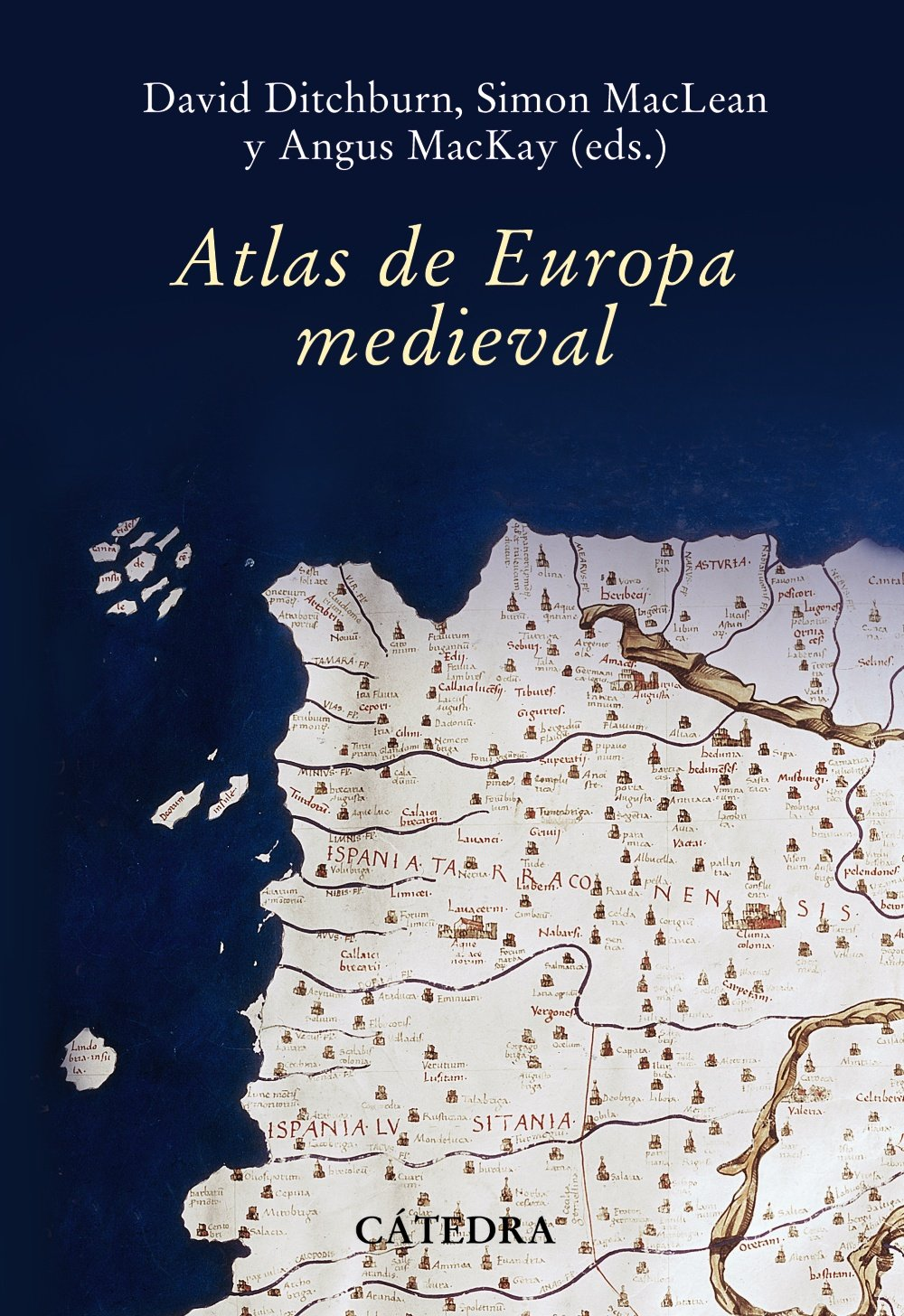 Atlas de Europa Medieva Book Cover