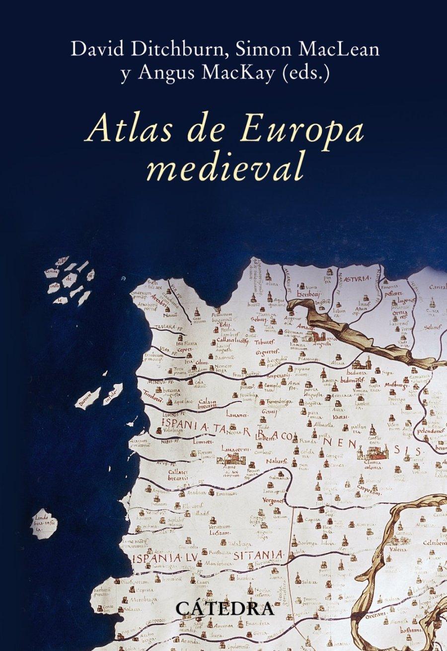 Atlas de Europa Medieva Book Cover