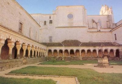 Claustro de los Mártires de San Pedro de Cardeña