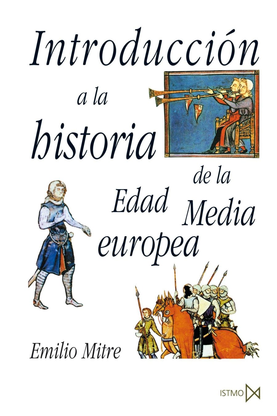 Introducción a la historia de la Edad Media europea Book Cover