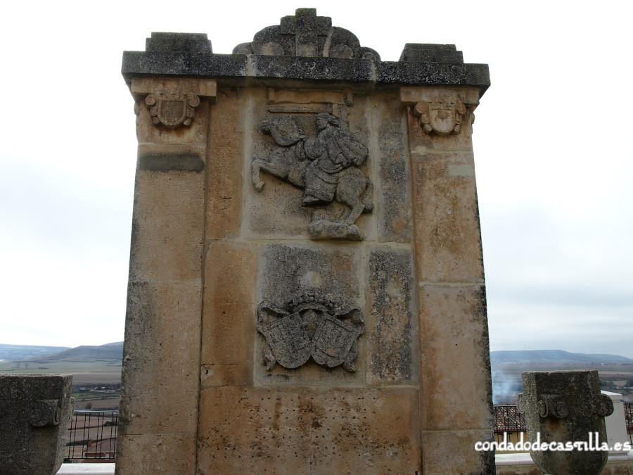 Monumento al milenario del Fuero de Castrojeriz en la Plaza de los Fueros