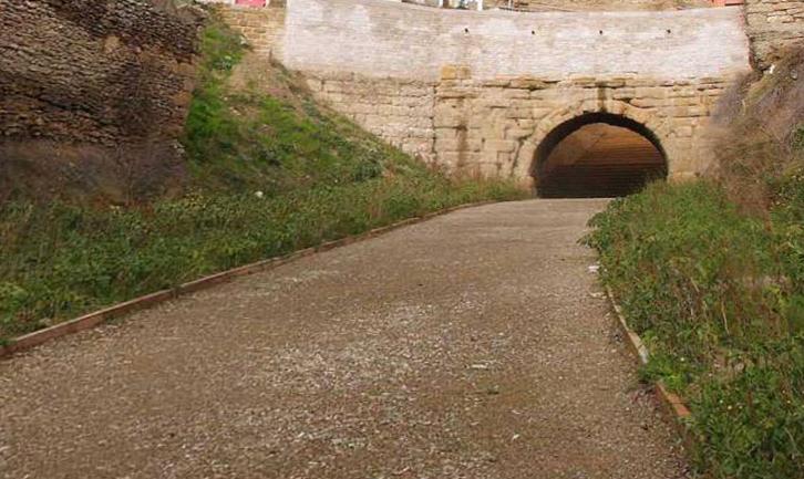 Puente romano de San Ciprián en Cerezo de Río Tirón