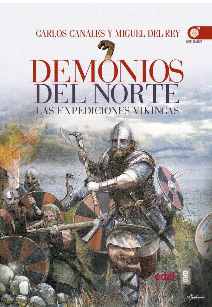 Demonios del norte. Expediciones Vikingas. Book Cover
