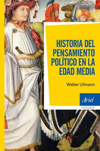 Historia del pensamiento político en la Edad Media Book Cover