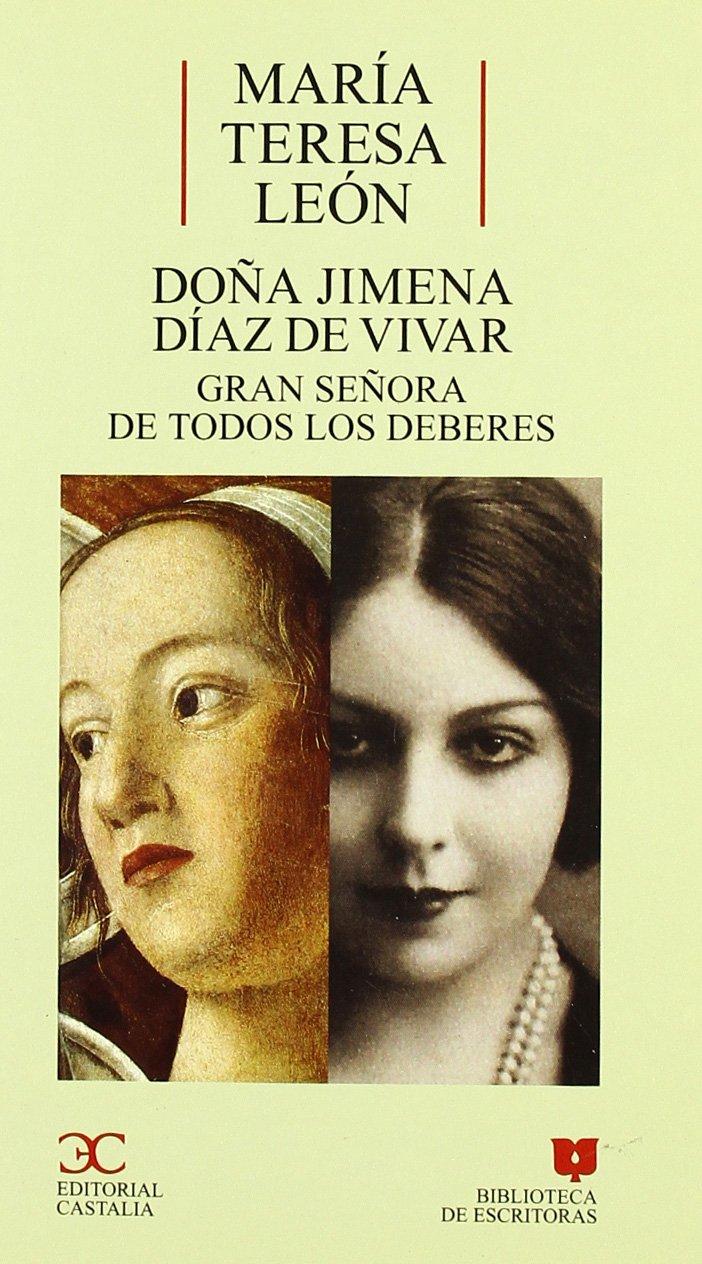 Doña Jimena Díaz de Vivar Book Cover