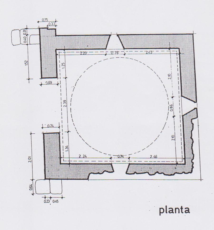 Planta de San Félix de Oca