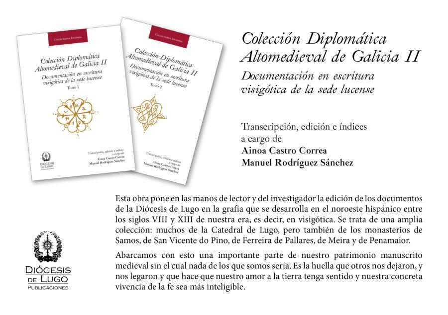 Colección Diplomática Altomedieval de Galicia II Book Cover