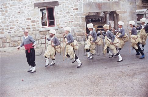 Cachimorro y danza de los pastores en Labastida (Álava)