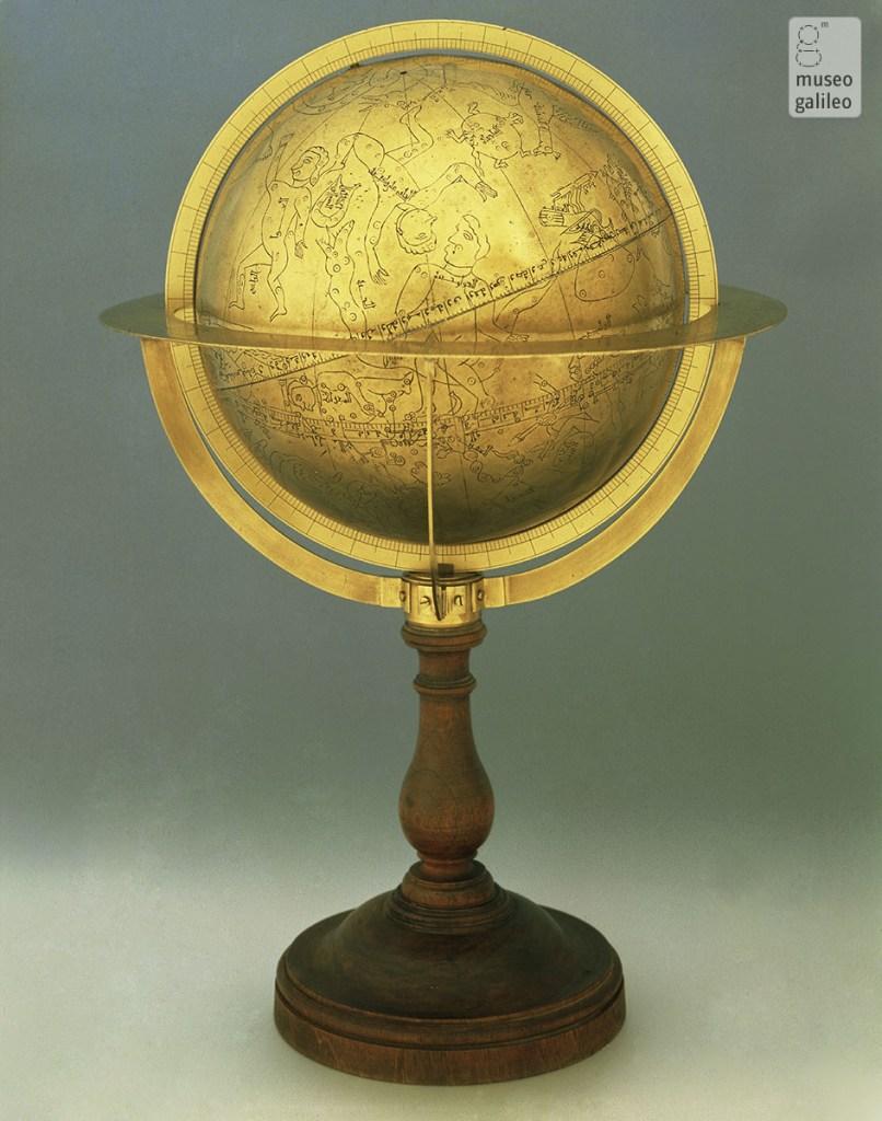 Esfera celeste de Abu Isa ben Lubbun (c. 1085). Conservada en el Museo Galileo - Istituto e Museo di Storia della Scienza.