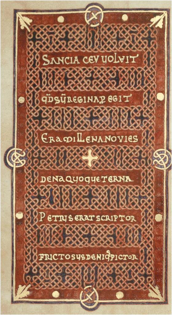 Fol. 285 Libro de horas de Fernando I y Sancha
