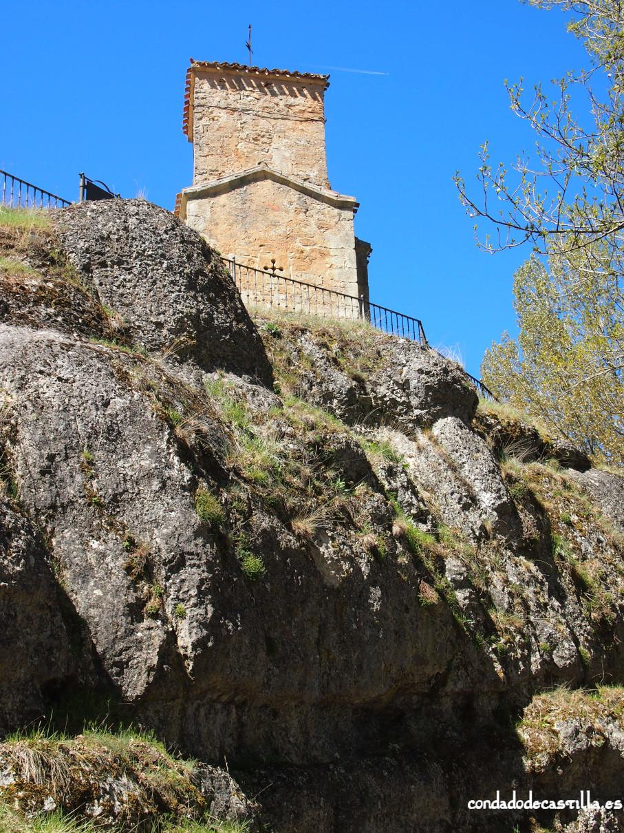 Santa Cecilia desde el río Mataviejas