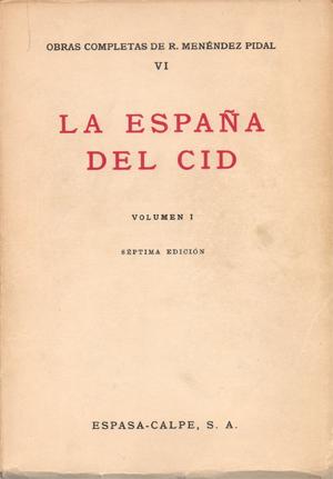 La España del Cid Book Cover