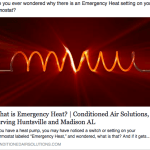 What is Emergency Heat?