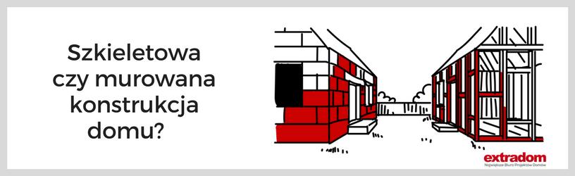 Szkieletowa czy murowana konstrukcja domu?