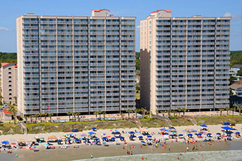 2 bedroom condos - myrtle beach condo - grand strand rental